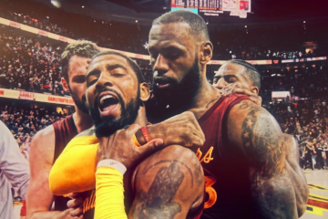 LeBron James Kyrie Irving comeback 2016