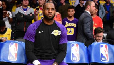 NBA – Les Lakers ont-ils demandé à LeBron de rester au frigo ?