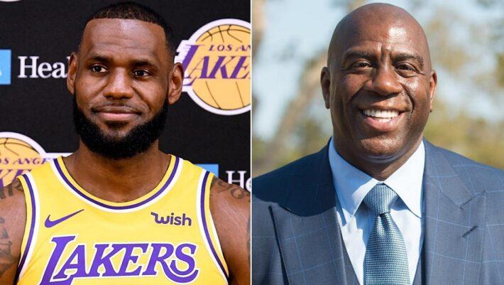 Magic est excité pour le futur de LA avec LeBron et Anthony Davis