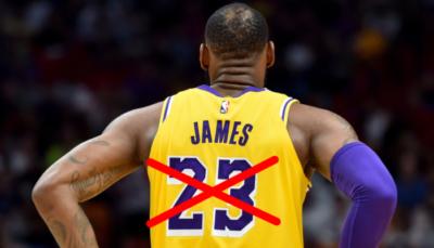 NBA – La vraie raison pour laquelle LeBron passe du numéro 23 au 6