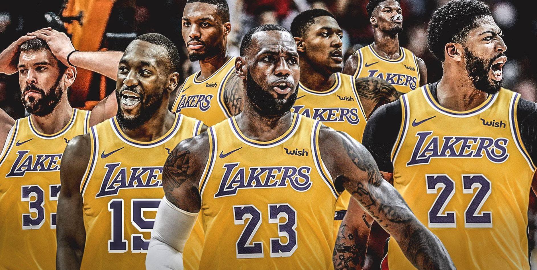 Lakers LeBron Kemba Davis