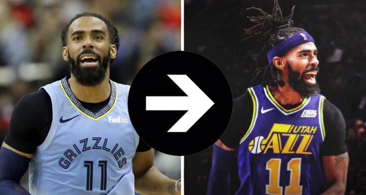 mike conley transfert jazz