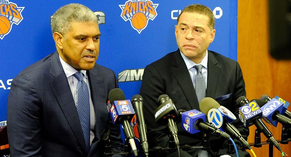 Le front-office des Knicks est composé en grande partie de noirs. Pourquoi est-ce important? Vous verrez.