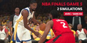 NBA – Simulation : Raptors ou Warriors, qui gagne le Game 5 ?