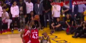 NBA – Top 5 : Pascal Siakam pousse les Warriors dans la tombe !