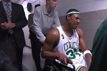 paul pierce fauteuil roulant boston celtics