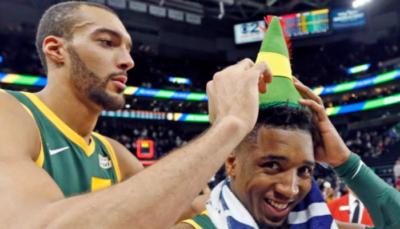NBA – Rudy Gobert trollé par Donovan Mitchell après son incroyable carton