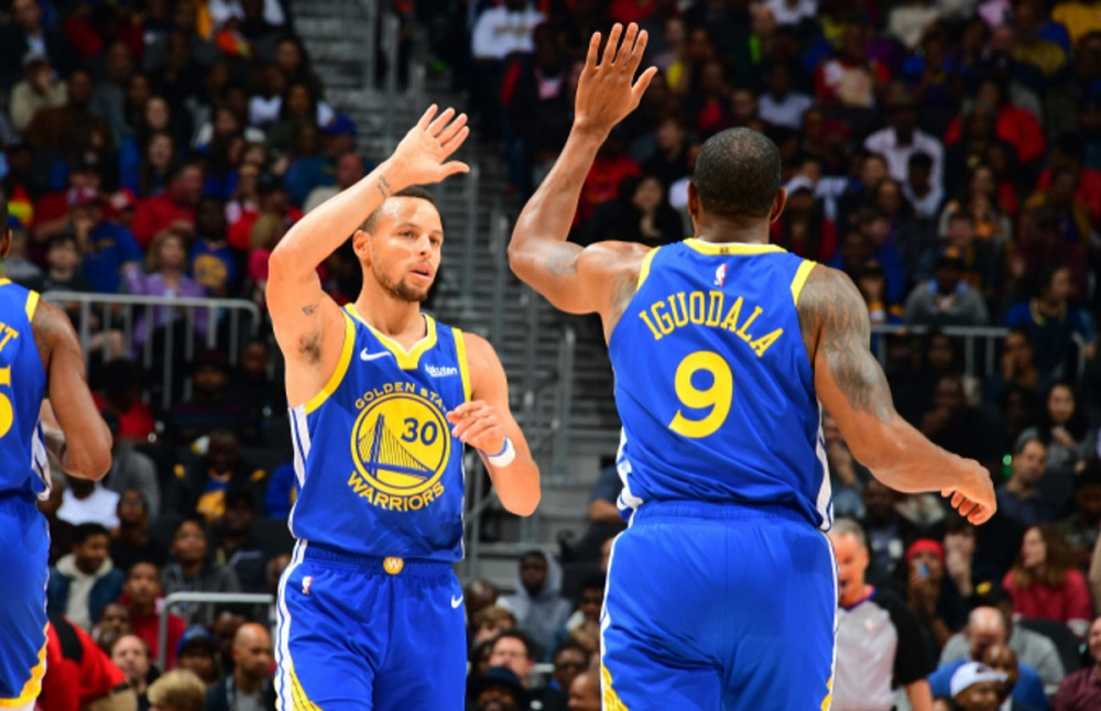 curry iguodala warriors point guard finals 2019
