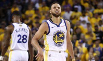 Steph Curry dépasse Scottie Pippen dans l'histoire des playoffs