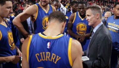 NBA – Le plus gros défi qu'a dû relever Steve Kerr à la tête des Warriors