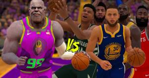 NBA – Un youtubeur simule un match entre Thanos (Avengers) et la ligue !