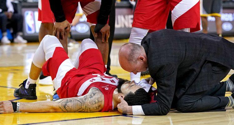 Fred VanVleet, les blessures, il connaît bien chez les Raptors.