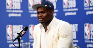 NBA – Zion Williamson malin face à un journaliste