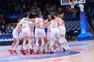 Eurobasket (F)- La Serbie, impériale, complète le dernier carré