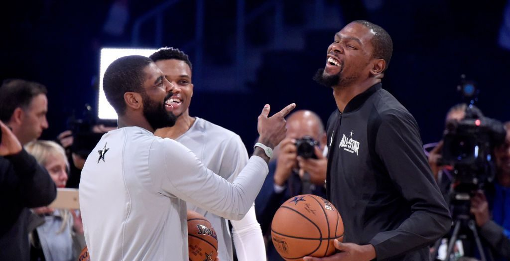 Kyrie Irving et Kevin Durant joueront bien pour les Nets l'an prochaine, une catastrophe pour les Knicks ?