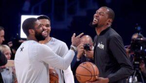 NBA – Le renfort suggéré aux Nets afin d'épauler Kevin Durant et Kyrie Irving