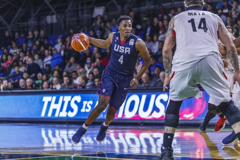 International à deux reprises avec Team USA Christon rejoint Limoges