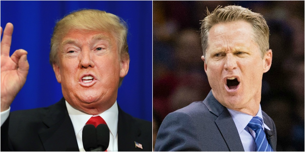 Kerr réagit à la polémique sur Trump
