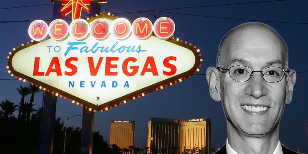 Adam Silver sur la possibilité de voir une franchise NBA à Las Vegas