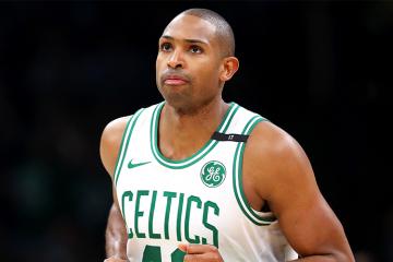 Al Horford avec le maillot des Celtics