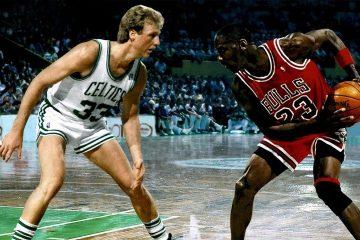 Larry Bird Michael Jordan