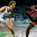 NBA – L'incroyable phrase de Larry Bird sur Michael Jordan après leur premier duel