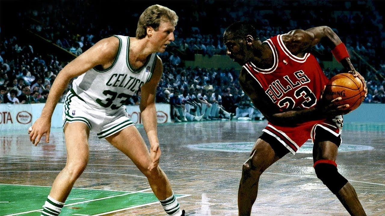 Larry Bird Michael Jordan