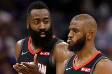 James Harden et Chris Paul ne s'entendaient plus chez les Rockets