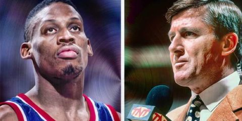 Dennis Rodman et l'ancien journaliste sportif Craig Sager