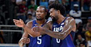 NBA – DeAndre Jordan donne des nouvelles de Kevin Durant