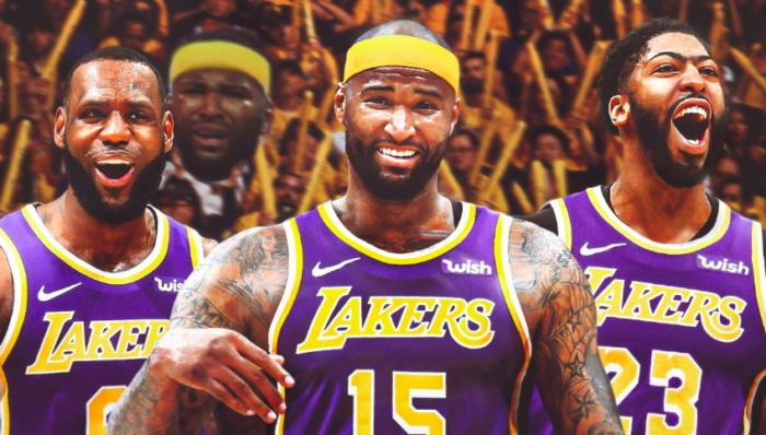 DeMarcus Cousins, LeBron et Davis aux Lakers
