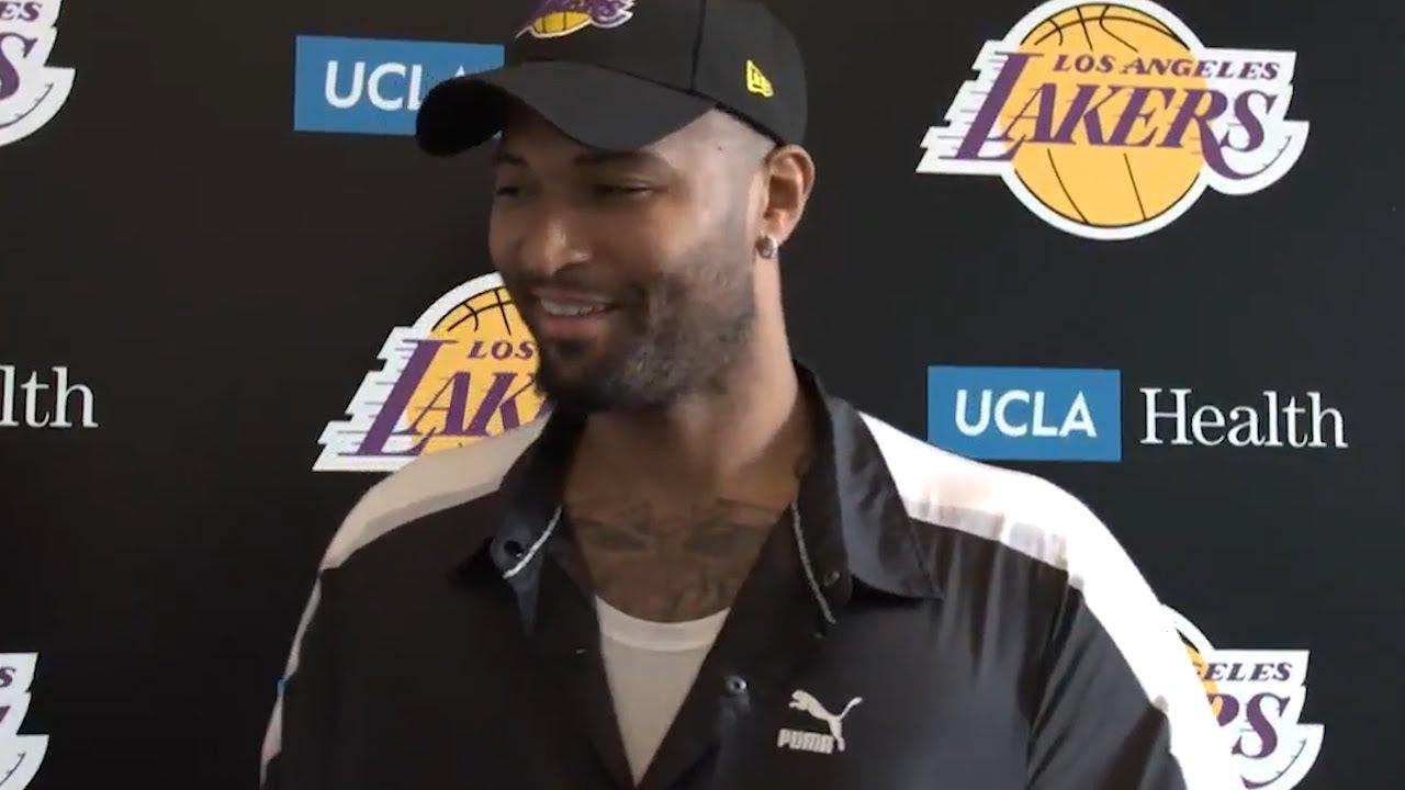 DeMarcus Cousins explique comment il a été convaincu de signer aux Lakers