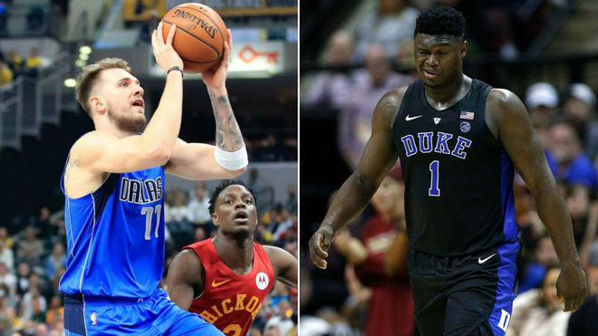 Luka Doncic Zion Williamson