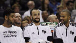 NBA – Tony Parker, Manu Ginobili et Tim Duncan réunis à San Antonio !