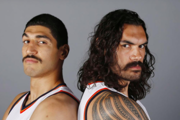 Enes Kanter Steven Adams