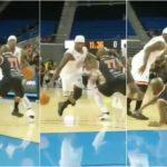 NBA – Floyd Mayweather salement crossé dans un match de gala