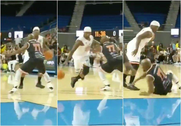"""Floyd Mayweather s'est fait humilier par le joueur de streetball Larry """"Bone Collector"""" Williams"""