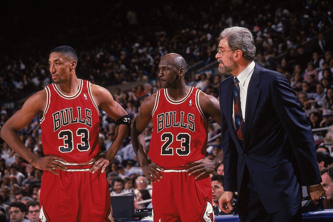 Michael Jordan Phil Jackson Pippen