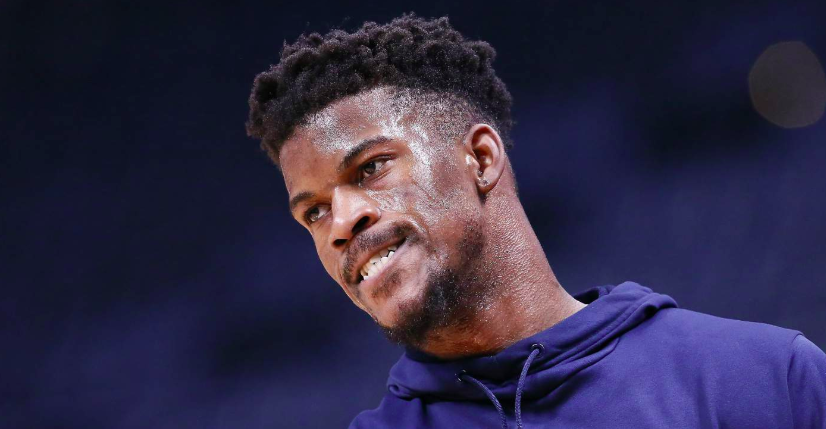 Jimmy Butler hommage sixers nba