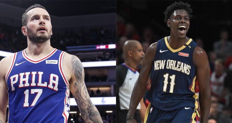 JJ Redick et Jrue Holiday