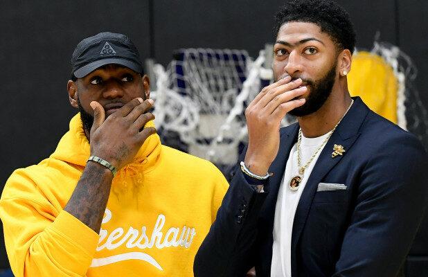 LeBron James et Anthony Davis devront se méfier de l'infirmerie