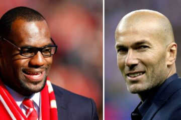 LeBron James Zinédine Zidane