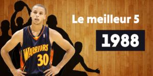 NBA – Le meilleur 5 des joueurs nés en… 1988