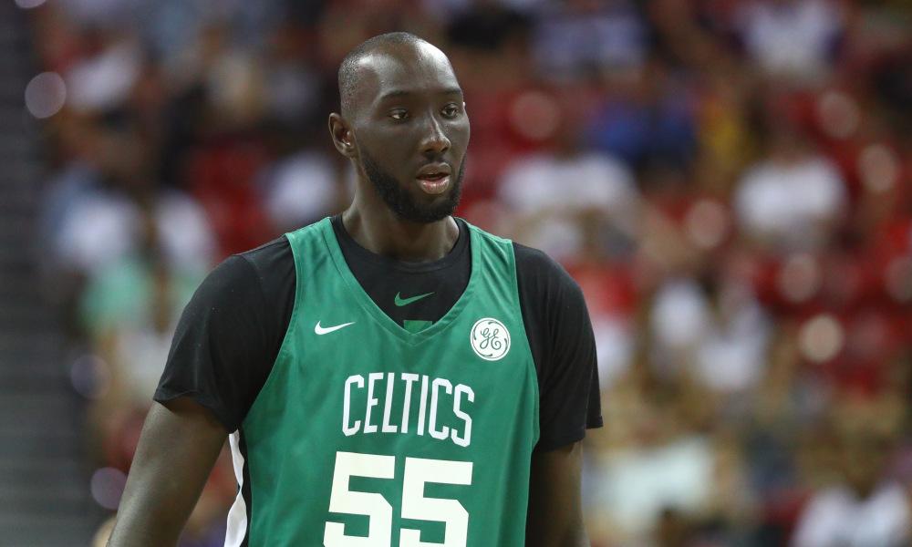 Tacko Fall sous le maillot des Celtics