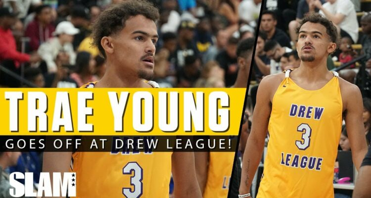 Trae Young Drew League Montrezl Harrell