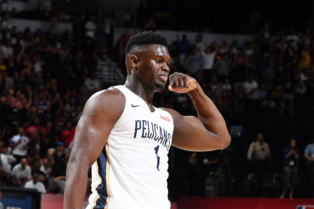 Zion Williamson Pelicans