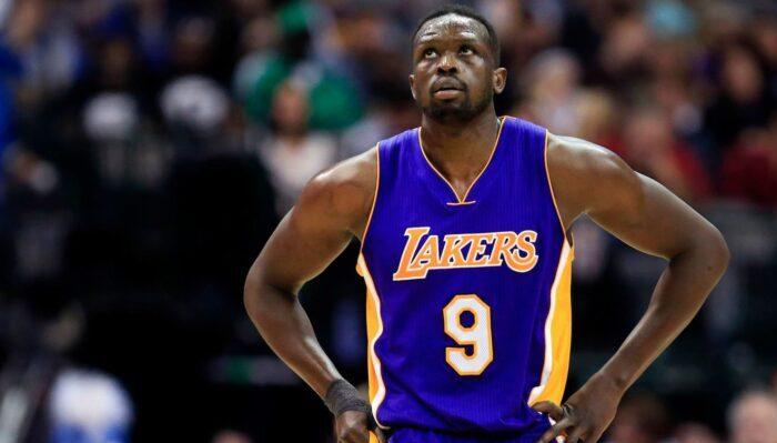 Luol Deng sous le maillot des Los Angeles Lakers