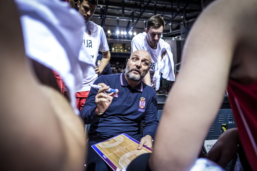 Le coach de la Serbie est motivé