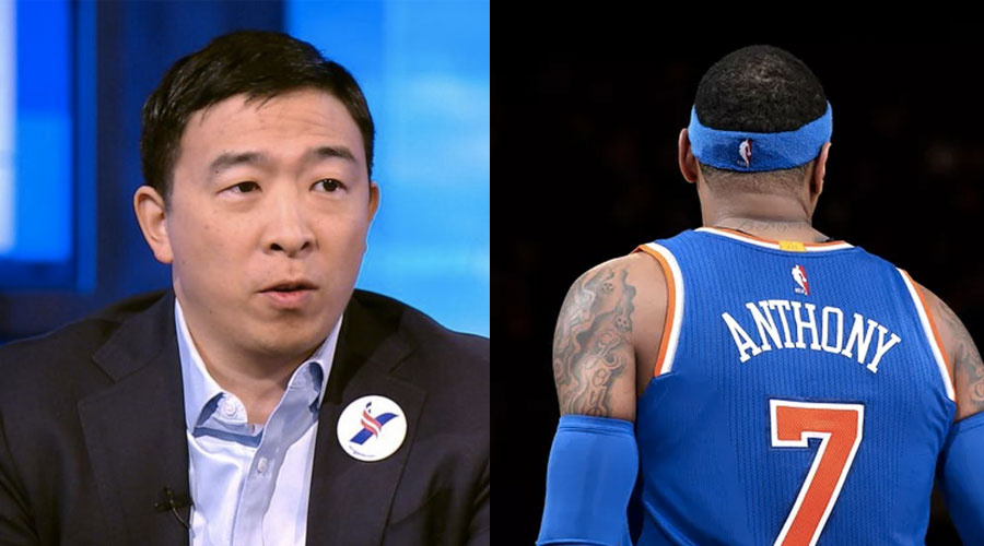 Andrew Wang Carmelo Anthony