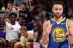 Bronny James place une dédicace à Stephen Curry